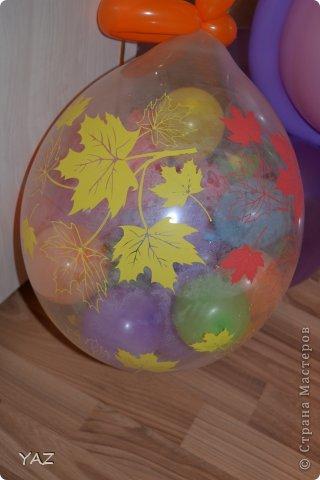 06 октября у меня было День Рождения и мама с папой подарили мне вот такую девочку из воздушных шариков фото 4