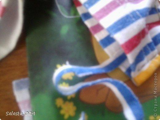 Отрезаем кусочек ткани нужной длинны и ширины. фото 4