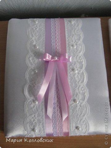 Мой свадебный комплект)Казна,бокалы, подвязка) фото 2