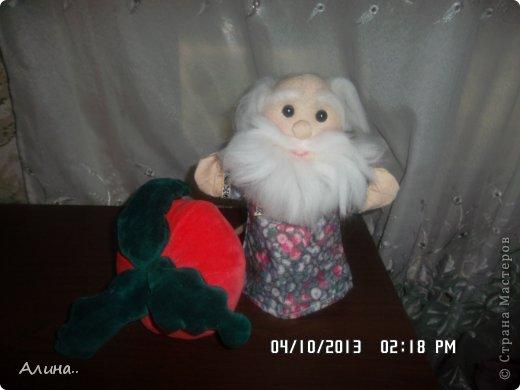 Доброго времени суток СМ! Вот таких кукол я сделала для кукольного театра... Это Маша и Медведь. фото 2