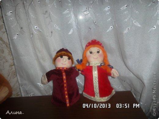 Доброго времени суток СМ! Вот таких кукол я сделала для кукольного театра... Это Маша и Медведь. фото 3