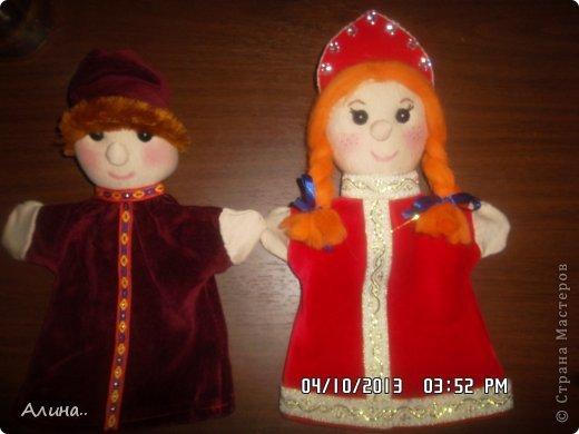 Доброго времени суток СМ! Вот таких кукол я сделала для кукольного театра... Это Маша и Медведь. фото 4