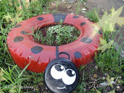 Всем привет)))) Вот еще несколько моих огородных украшалок))))  фото 9