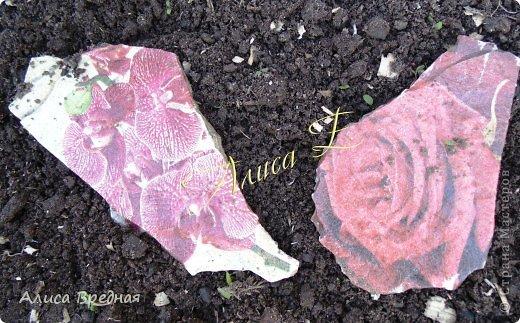 Всем привет)))) Вот еще несколько моих огородных украшалок))))  фото 4