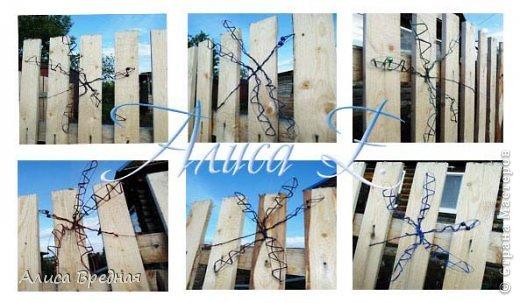 Всем привет)))) Вот еще несколько моих огородных украшалок))))  фото 8