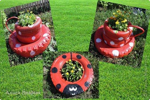 Всем привет)))) Вот еще несколько моих огородных украшалок))))  фото 11