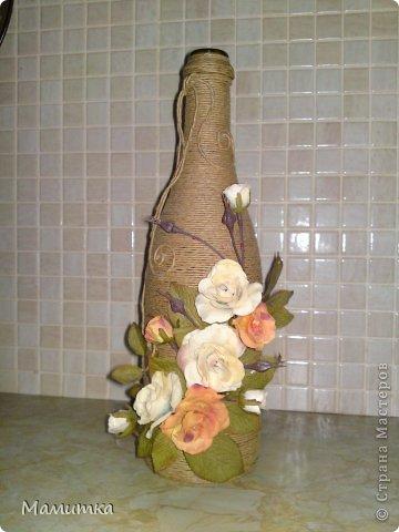 Шнур бумажный. Цветы искуственные, готовые. фото 1