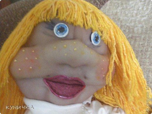 вот как-то родилась такая большая куклеха,правда со своими изъянами и своим характером..поехала покорять одну семью по их просьбе фото 4