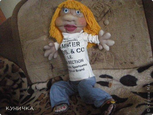 вот как-то родилась такая большая куклеха,правда со своими изъянами и своим характером..поехала покорять одну семью по их просьбе фото 3