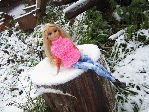 Приветики Страна!У нас сегодня радость) Мои красотули сегодня в первые увидели снег! И хочу вам сказать моим иностаночкам очень понравился белый ковер, который сегодня застелил все) фото 10