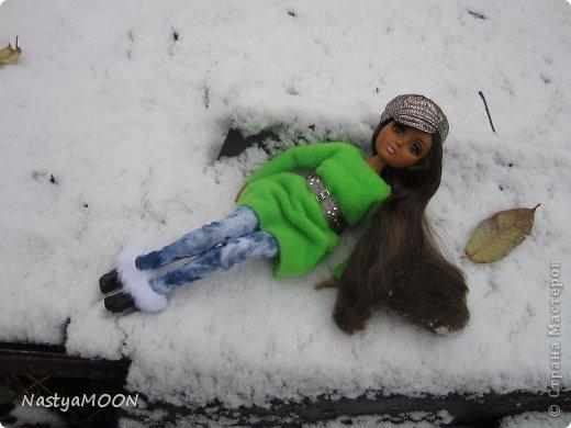 Приветики Страна!У нас сегодня радость) Мои красотули сегодня в первые увидели снег! И хочу вам сказать моим иностаночкам очень понравился белый ковер, который сегодня застелил все) фото 5