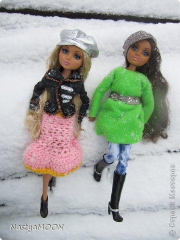 Приветики Страна!У нас сегодня радость) Мои красотули сегодня в первые увидели снег! И хочу вам сказать моим иностаночкам очень понравился белый ковер, который сегодня застелил все) фото 14