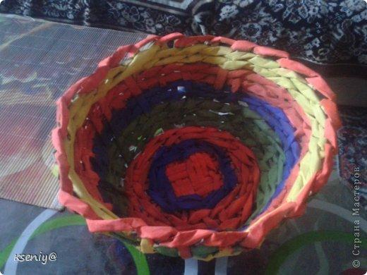 Коробочка плетение из газеты фото 7