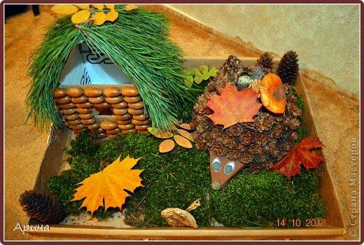 Детские поделки из природного материала праздник осени