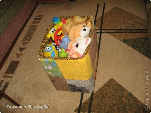 Корзина для игрушек. фото 1