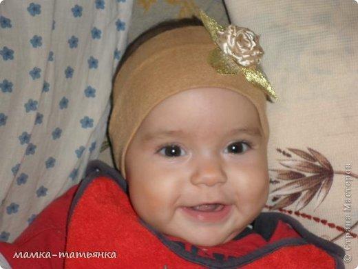 Младшей повязочку. фото 1