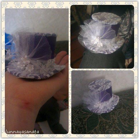 мои первые мини шляпки фото 1