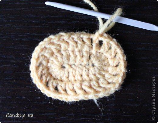 крючком Детский шарф