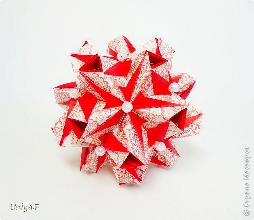 """Здравствуйте!  Следующий МК из серии """"Цветущие ленты"""".  Name: Senorita collection """"Ribbon Flowers""""  Designer: Uniya Filonova  Units: 30  Paper: 3*15 cm (1:5) Final height: ~ 9,5 cm  Joint: no glue фото 27"""