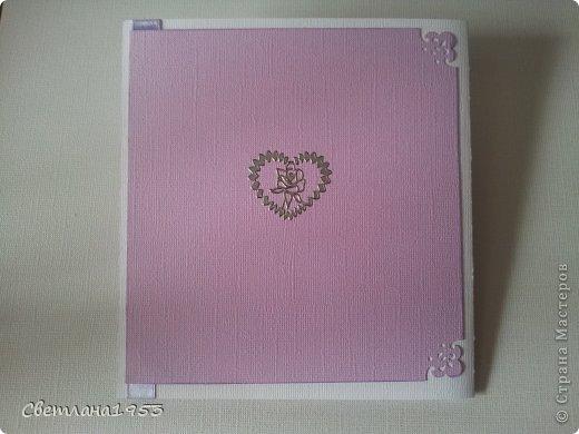 Добрый   вечер, уважаемые  мастера и мастерицы!!!И вновь у меня свадебные открыточки. Заходите ко мне в гости... Жду ваши комментарии! фото 7