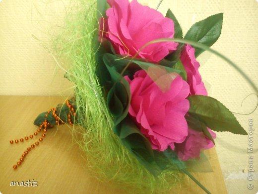 Пять пышных роз фото 1