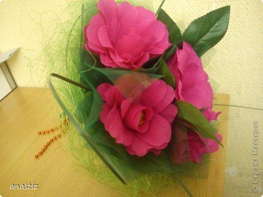 Пять пышных роз фото 3