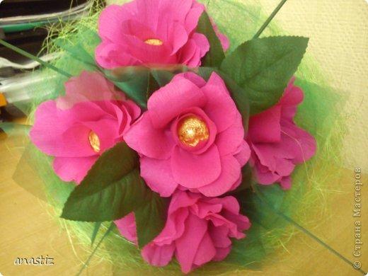 Пять пышных роз фото 2