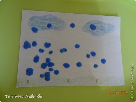 """Здравствуйте Жители СМ!!!Сегодня решила выставить творчество моей дочки Ириши,ей 1 год и 6 мес. Потихоньку начинаю и её приучать к творчеству.А это наши первые шедевры """"Осеннее дерево"""".  фото 4"""