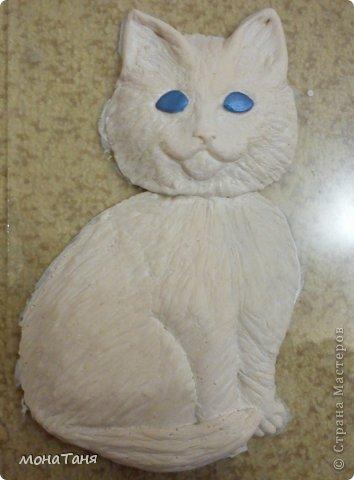 Вот такой получился Рыжик с голубыми глазами. МК по лепке здесь https://stranamasterov.ru/node/647923 фото 8