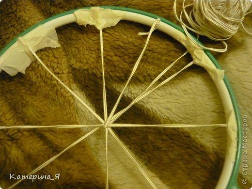 """Здравствуйте)не знаю есть ли такой МК,но хочу поделится опытом по созданию плетеной шляпки из шпагата, бечевки, сутажа или др материала, лучше конечно подойдет бумажный тонкий шпагат, он хорошо держит форму, бечевка или сутаж """"расползаются"""" с ними мороки больше( плетение похоже на плетение корзин я так думаю)на фото открытка Светланы Маликбаевой (Ссылка удалена, Пользовательское соглашение п.2.4), моей очень хорошей знакомой, скрапбукинг познакомил нас))она и нашла применение шляпки моего производства..и так .. фото 4"""