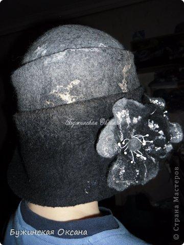 """шляпка """"Серебро"""" фото 3"""