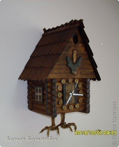 Настенная шкатулка часы фото 6