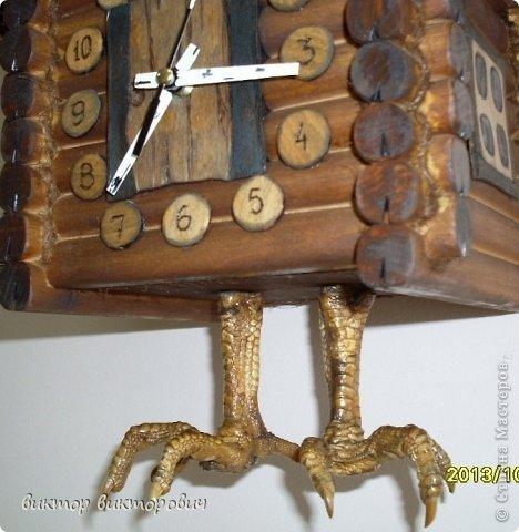 Настенная шкатулка часы фото 4