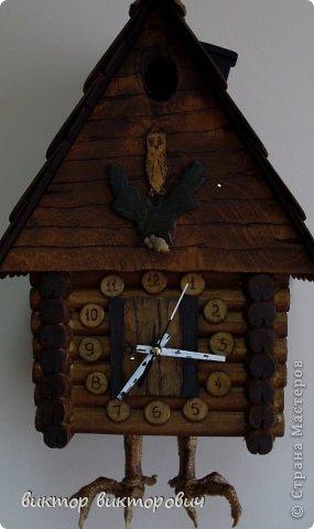Настенная шкатулка часы фото 1