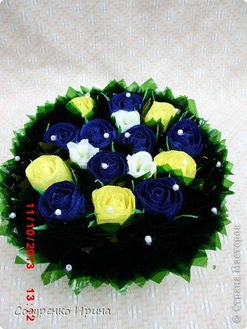 букет красных роз.  фото 8