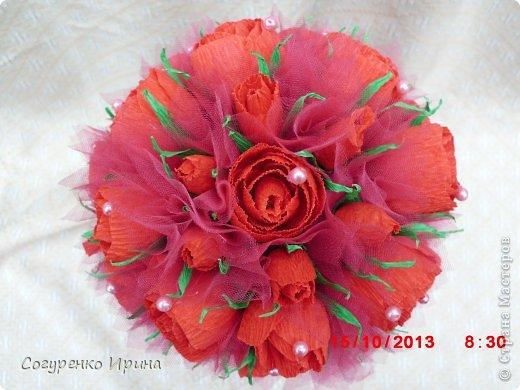 букет красных роз.  фото 1
