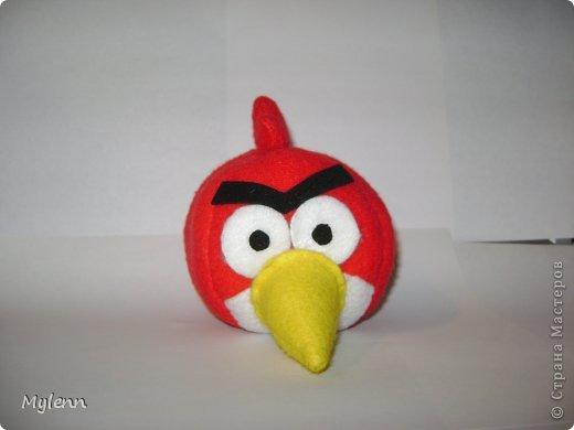 """Доброго времени суток,дорогие Мастера и Мастерицы:) Представляю на ваш суд свою версию персонажей популярной игры Angry Birds. Игрушки были сшиты по просьбе """"большого ребёнка""""))) фото 2"""