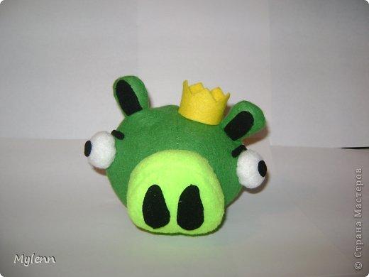 """Доброго времени суток,дорогие Мастера и Мастерицы:) Представляю на ваш суд свою версию персонажей популярной игры Angry Birds. Игрушки были сшиты по просьбе """"большого ребёнка""""))) фото 4"""