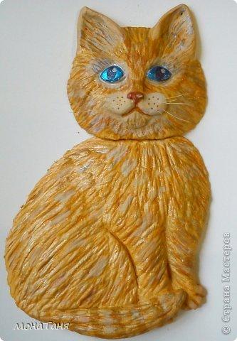 Вот такой получился Рыжик с голубыми глазами. МК по лепке здесь https://stranamasterov.ru/node/647923 фото 3