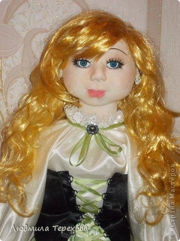 """Повтор моей работы """"кукла Герда""""...А поскольку точная копия невозможна, то получилась вот такая девушка  фото 1"""