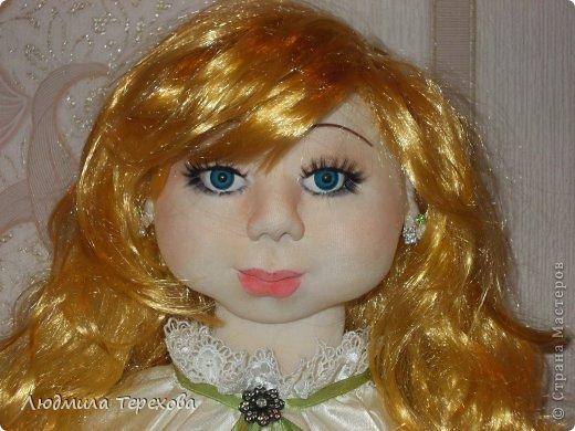 """Повтор моей работы """"кукла Герда""""...А поскольку точная копия невозможна, то получилась вот такая девушка  фото 2"""
