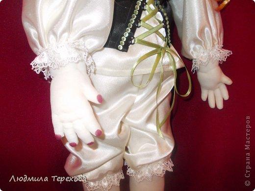 """Повтор моей работы """"кукла Герда""""...А поскольку точная копия невозможна, то получилась вот такая девушка  фото 4"""