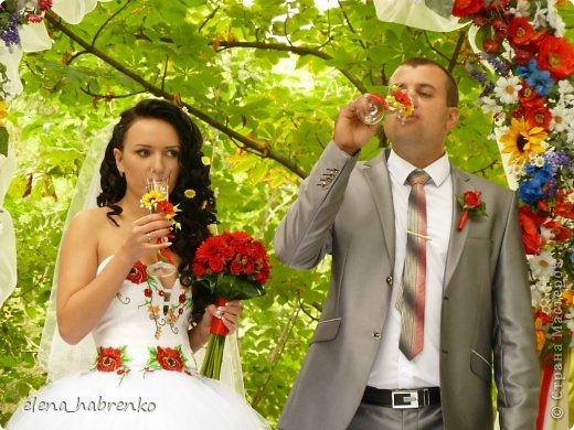 свадебный набор в украинском стиле фото 5
