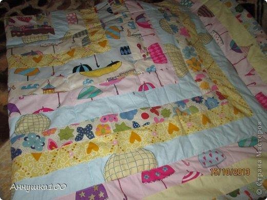 Одеяльце для ребенка. Вид с одной стороны. фото 1