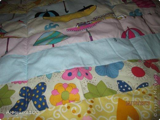 Одеяльце для ребенка. Вид с одной стороны. фото 3