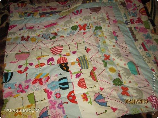 Одеяльце для ребенка. Вид с одной стороны. фото 2