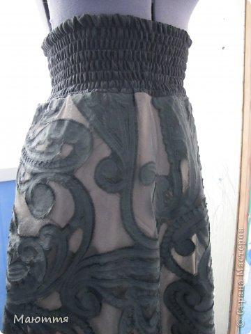Впервые шила из трикотажа целое платье! ткань - интерлок.  Модель - статная, но платье сЕло очень хорошо. Уже видела в нОске, мне понравилось (хоть и не скромно))) - сдержано, с налетом спортивности, как заказчик и просил фото 9