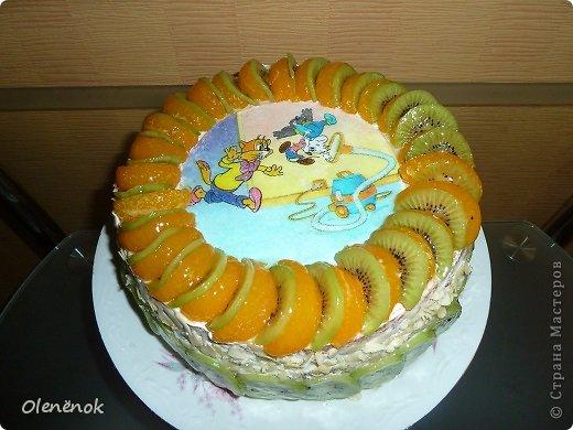 В основе всех тортов рецепт http://www.koolinar.ru/recipe/view/72079 . ОООООчень удачный! Всем рекомендую.  фото 2