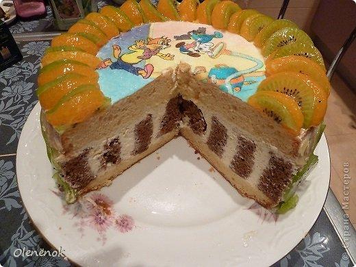В основе всех тортов рецепт http://www.koolinar.ru/recipe/view/72079 . ОООООчень удачный! Всем рекомендую.  фото 3