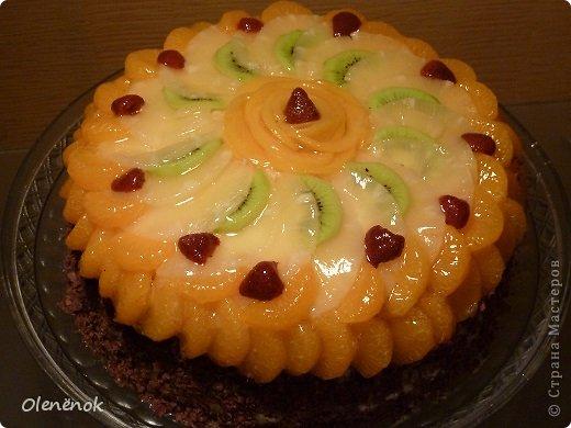 В основе всех тортов рецепт http://www.koolinar.ru/recipe/view/72079 . ОООООчень удачный! Всем рекомендую.  фото 5
